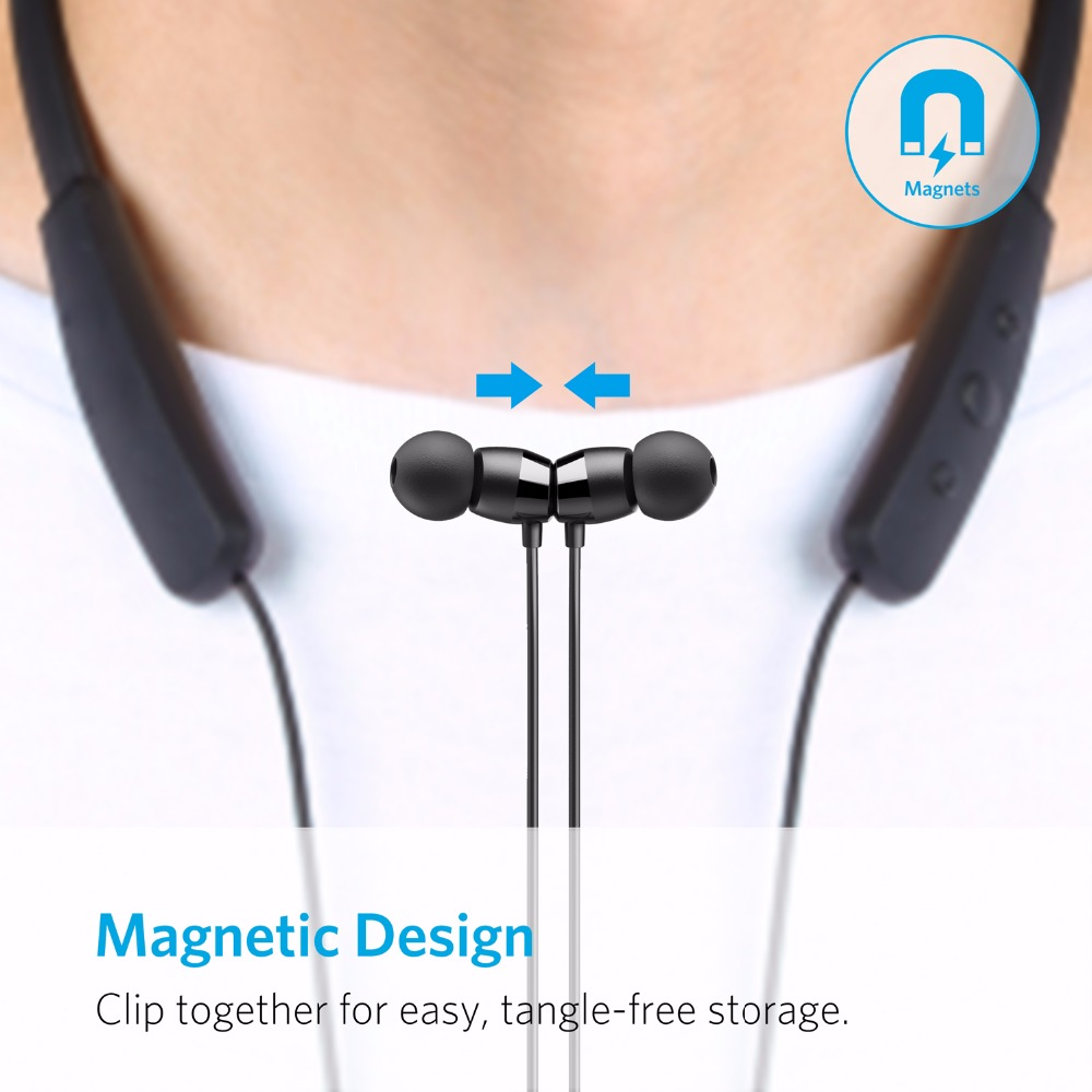 Anker neckband bluetooth headphones - noise cancelling headphones neckband